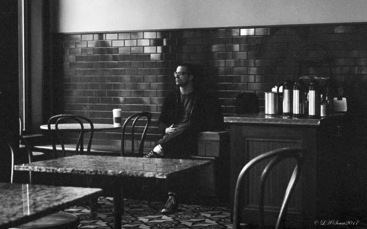 Man in the Coffee Shop