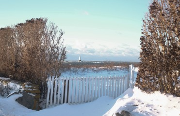 Lighthouse and Fence