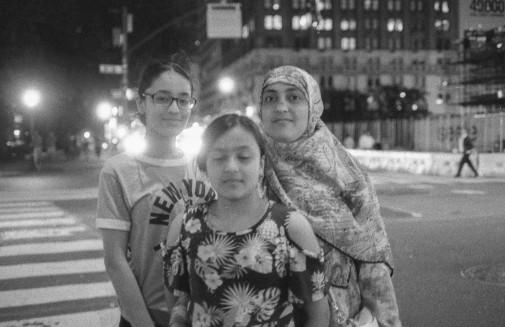 Family from Bangladesh
