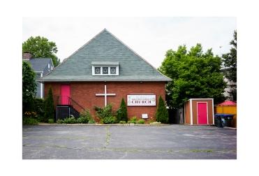 This church is so stark.