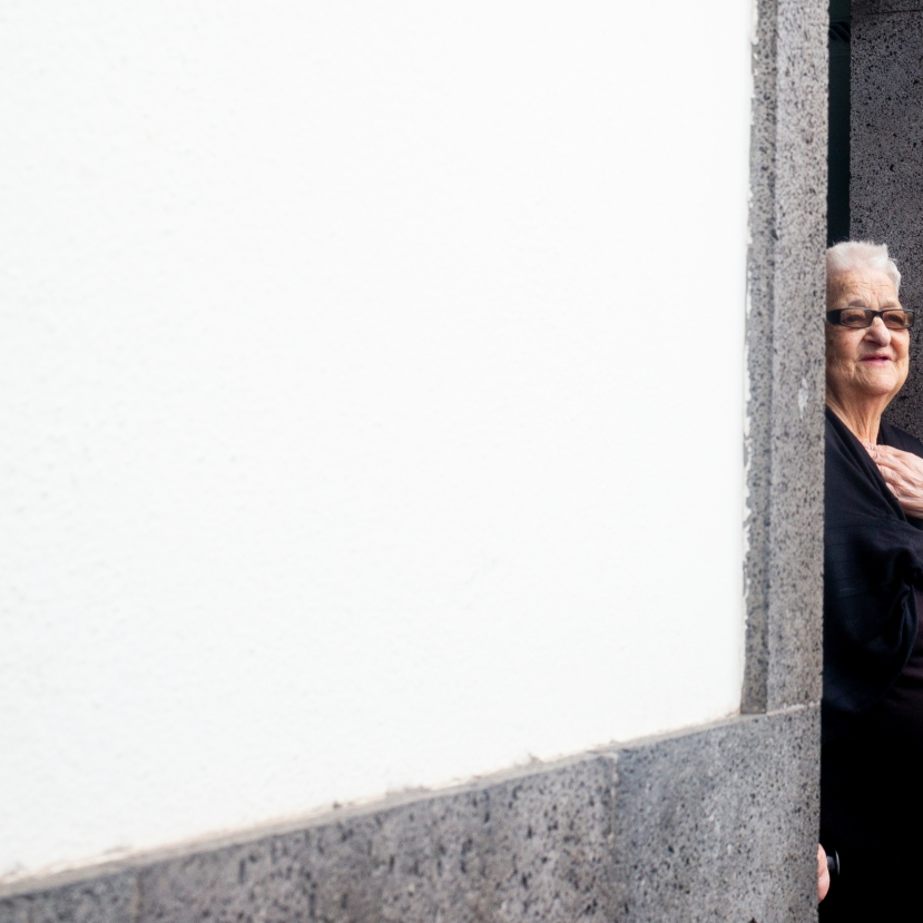 Old Woman in the Doorway