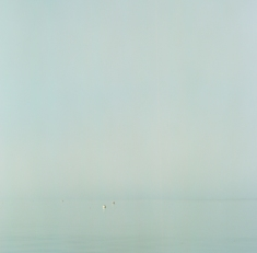 This image was taken on a very foggy morning from the seawall at the mouth of Bristol Harbor.