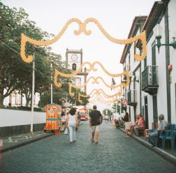 Streets Decorated for the Feast (1 of 1)