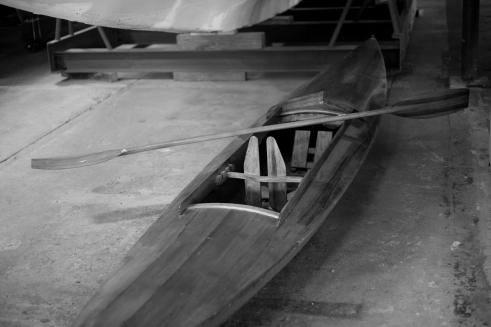 A beautiful kayak.