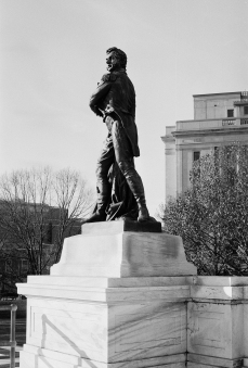 Statue at the Statehouse