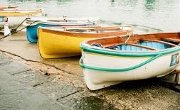 Boats on the Capri Shore