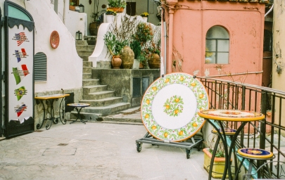Courtyard in Capri