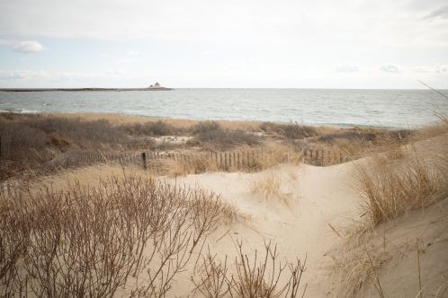Lighthouse from the Dunes
